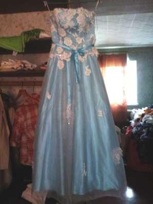 Бальное платье снежной королевы