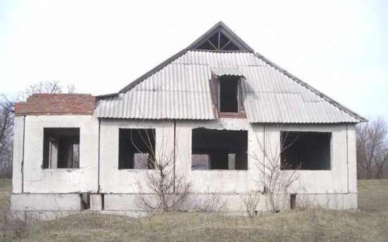Панельный дом - незавершонное строительство