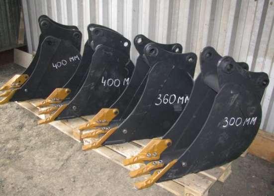 На jcb 3cx 4cx есть траншейные ковши на 300 360 400 460 600 мм
