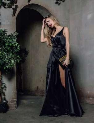 Шикарное платье в пол в Москве Фото 2