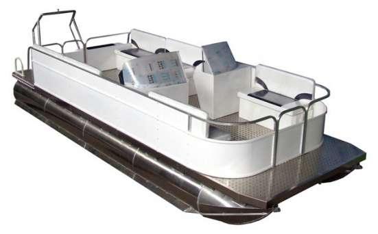 Производство и продажа понтонных катеров на заказ