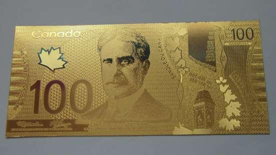 Коллекция золотых банкнот 24 к 20 штук + сертификат в Артемовский Фото 5