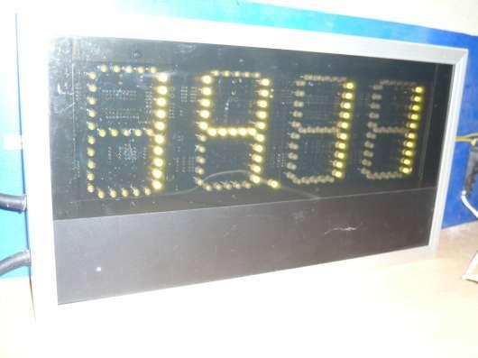 Электронные часы+календарь+термометр офис-улица