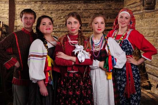Ансамбль Раздолье на Новый год в Москве Фото 1