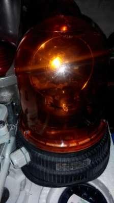 Лампа вращающая XVR -1 95 24 оранжевая