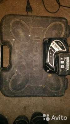 Зарядное устройство и аккумулятор для Hitachi DS10 в Курске Фото 2
