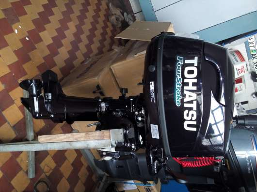 Лодочный мотор TOHATSU F5 НОВЫЙ в г. Керчь Фото 1