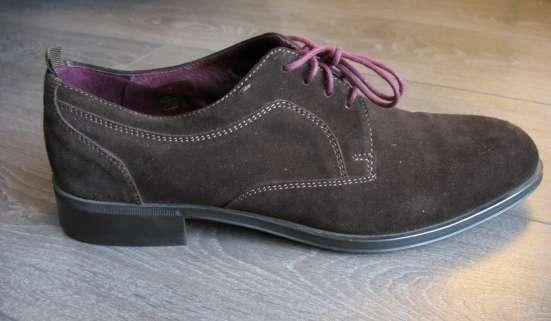 Ботинки из натуральной замши, финские