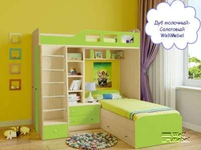 Детская двухъярусная кровать РВ мебель Астра 4 в Москве Фото 5