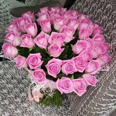 В Липецке 101 роза Фото 2