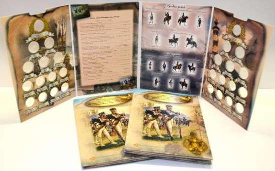 Капсульный Альбом для монет 200 Лет война 1812 год есть опт