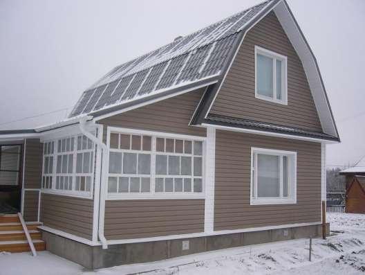 Фасады, отделка загородных домов