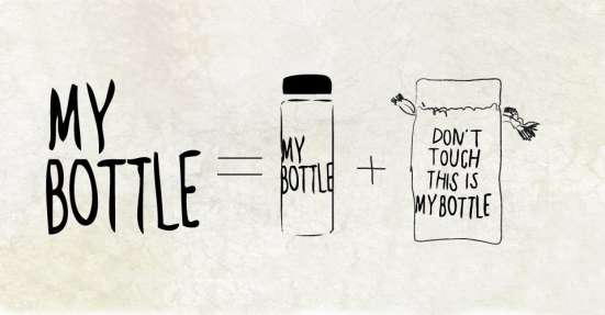 "Бутылка ""My bottle"" + мешок"