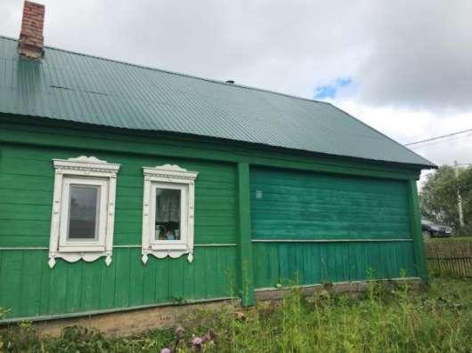 Продается хороший, крепкий деревянный дом для круглогодичного проживания в живописной деревне Бражниково, Можайский район 130 км от МКАД по Минскому шоссе. Фото 3