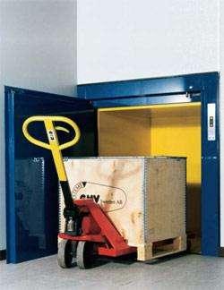 Грузовой подъемник для офиса магазина склада