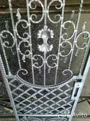 Цинкование заборных секций, кованных ворот в Москве Фото 3