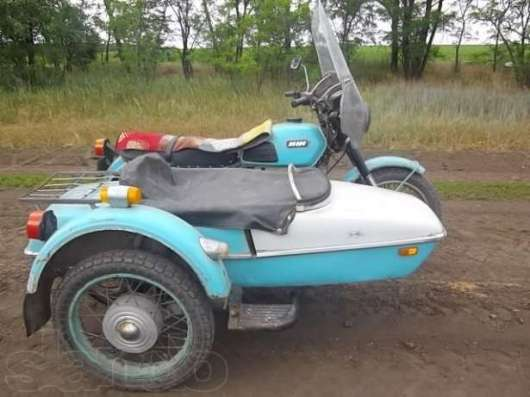 Коляска к мотоциклу ИЖ