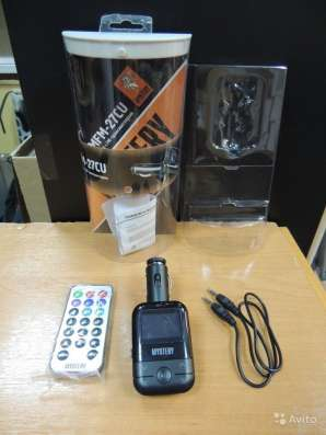 MP3 плеер с FM-трансмиттером mystery MFM-27CU