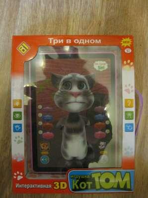 Популярный детский планшет с говорящим котом