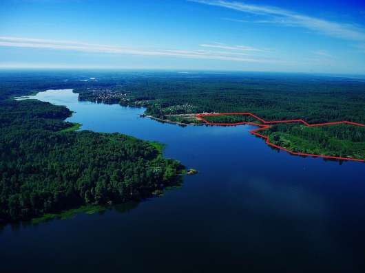Участок на 1 береговой линии р. Волга, д. Малое Новоселье