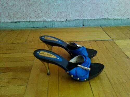 Туфли сандали лето три пары бательоны