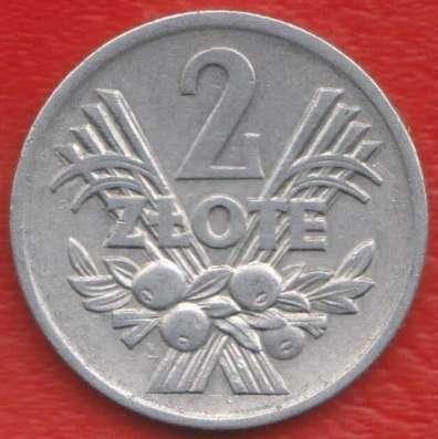 Польша 2 злотых 1974 г. №1