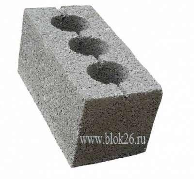 Бетонные блоки и полублоки