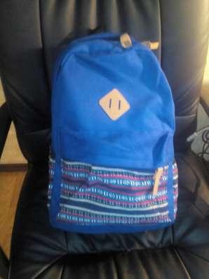 Рюкзак городской с этническим орнаментом Черный Синий в г. Запорожье Фото 3