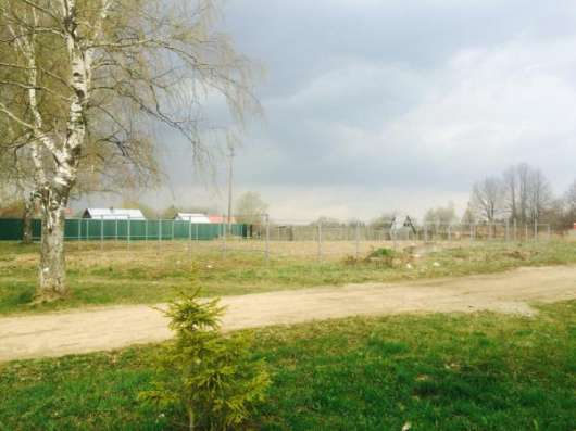Продается участок 6.7 сотки в пос. Красный балтиец,Можайский р-он,109 км от МКАД по Минскому шоссе. Фото 2
