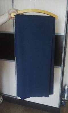 Отрез ткани на пальто, драп цвет синий в Новосибирске Фото 1