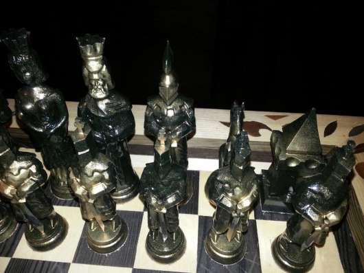 Продам шахматы резные