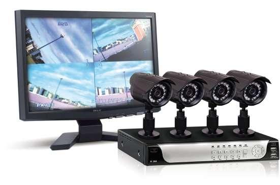 Электромонтаж, видеонаблюдение, сигнализация