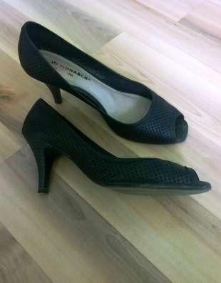 Туфли из перфорированной кожи, 40 размер