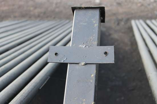 Столбы металлические в Курске