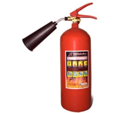 Зарядка и обслуживание огнетушителей
