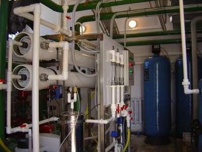 Станция очистки воды от вредных примесей Сокол Ф