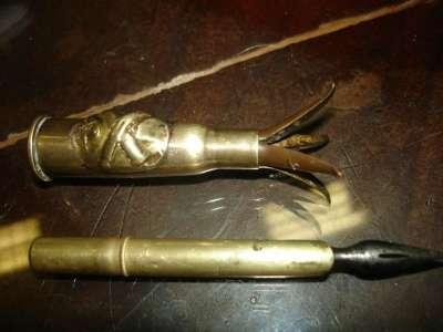 Старин.ручка с эмблемой