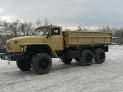 грузовой автомобиль УРАЛ 5557 самосвал в г. Усинск Фото 4