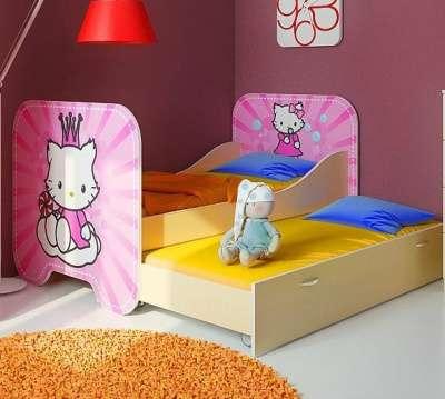 Китти  Кр-6 кровать с доп.спальным