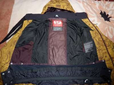 сноубордическую куртку BELOWZERO (Switherland)