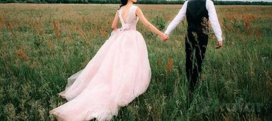 Свадебное платье пудрового цвета в г. Гомель Фото 2