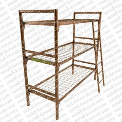 Металлические кровати для бытовок, кровати для вагончиков, кровати для рабочих, оптом от производителя. в Сочи Фото 2