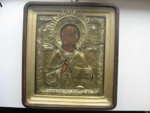 Продам икону Спас. Киот