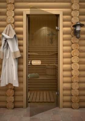 Двери для сауны стеклянные 190х70 - 25000тг