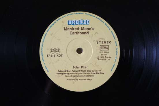 Manfred Mann's Earth Band-1973 Made Germany