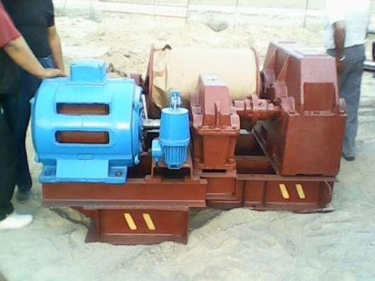 Лебедка маневровая электрическая ЛМ-160 с тросом