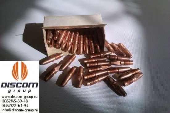 Токопроводящие наконечники для MIG/MAG (медные ДУКМ)