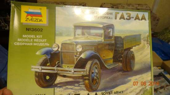 Модель сборная грузовик ГАЗ-АА 1:35 Звезда