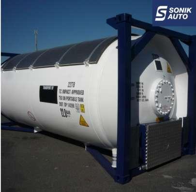 Танк-контейнер T50 для СУГ перевозки пропан бутана