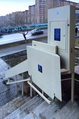 Подъемник инвалидный и грузовой пр-во Астана